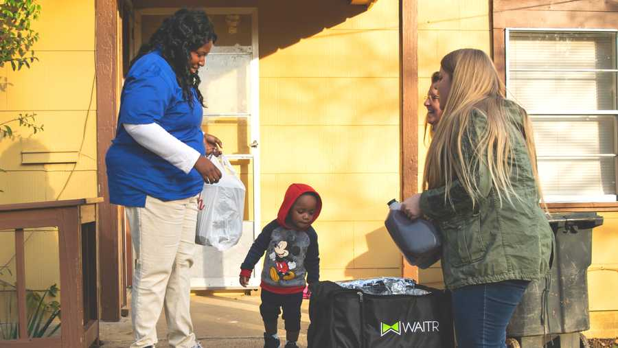 Waitr delivers Thanksgiving Meals