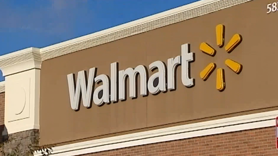 FILE image of a Walmart store