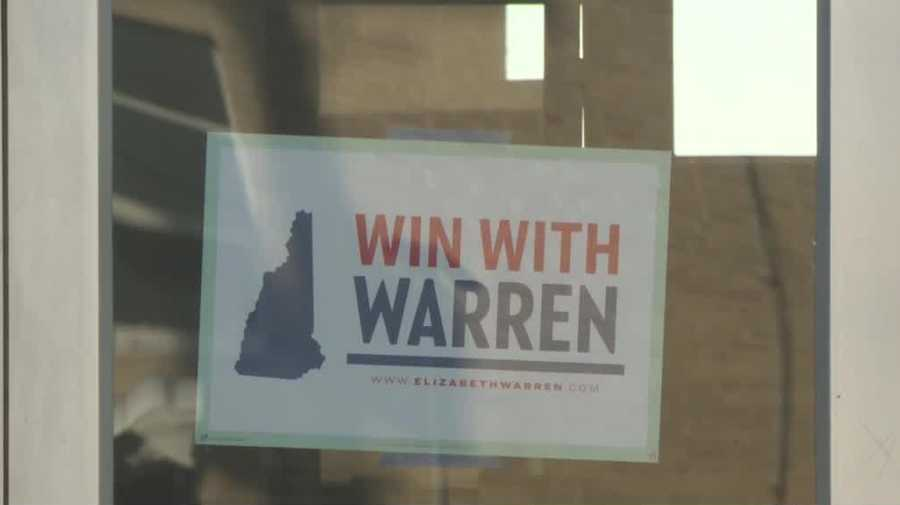 Warren campaign office burglarized
