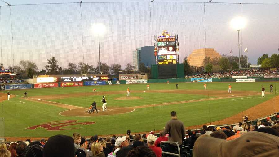 Raley Field, the home stadium of the Sacramento River Cats