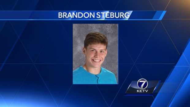 Brandon Steburg's coaches and teammates spoke at length about the teen, and what they saw Friday night.