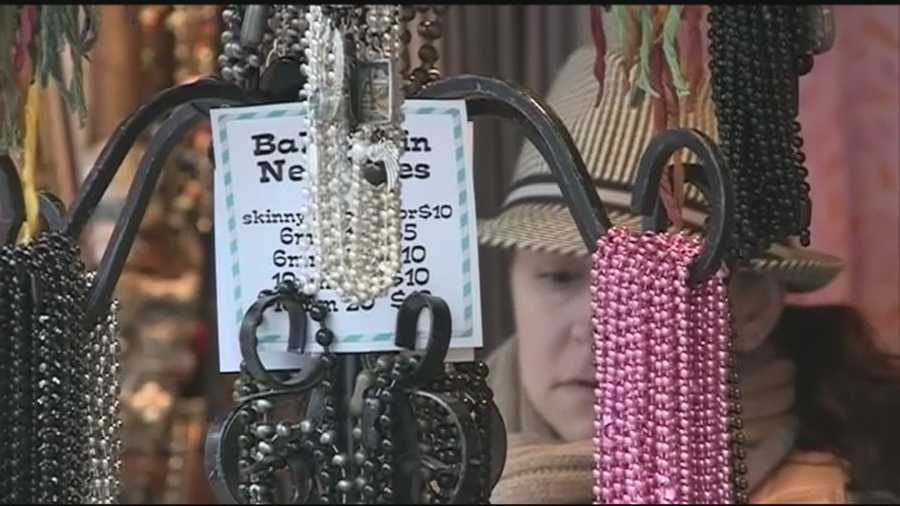 The craft fair that began the annual fall tradition is now open.