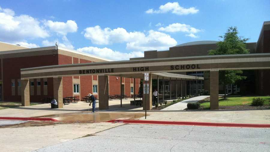 FILE image of Bentonville High School