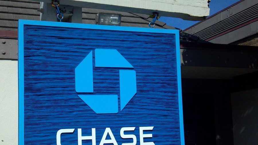 This Chase bank in Pacific Grove was robbed by three armed masked men on Wednesday. (Nov. 9, 2011)