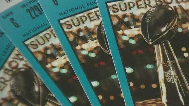 Super Bowl tickets for life ...