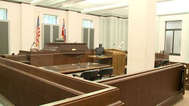 court generic empty courtroom