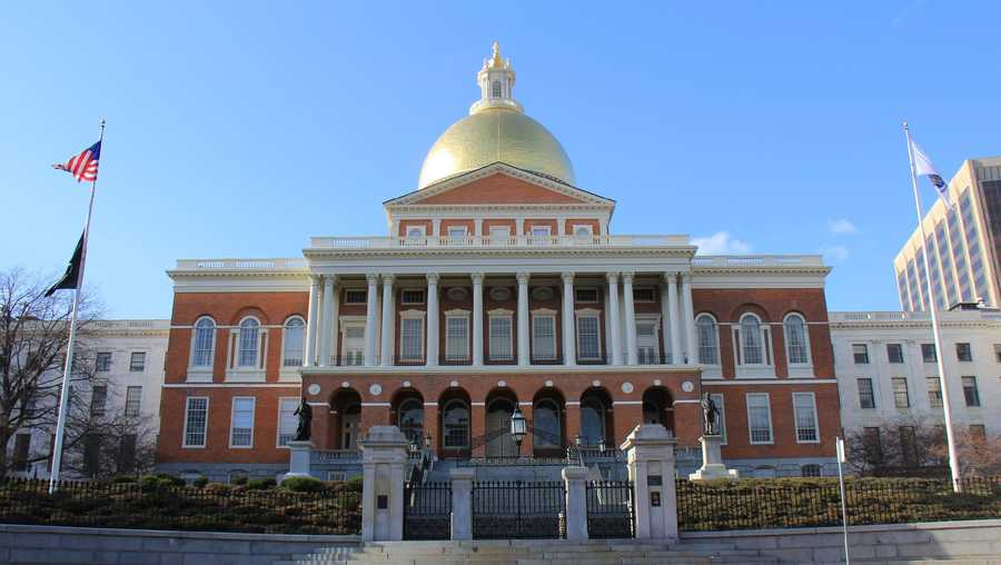 Massachusetts Statehouse Beacon Hill