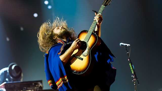 Louisville rock band My Morning Jacket