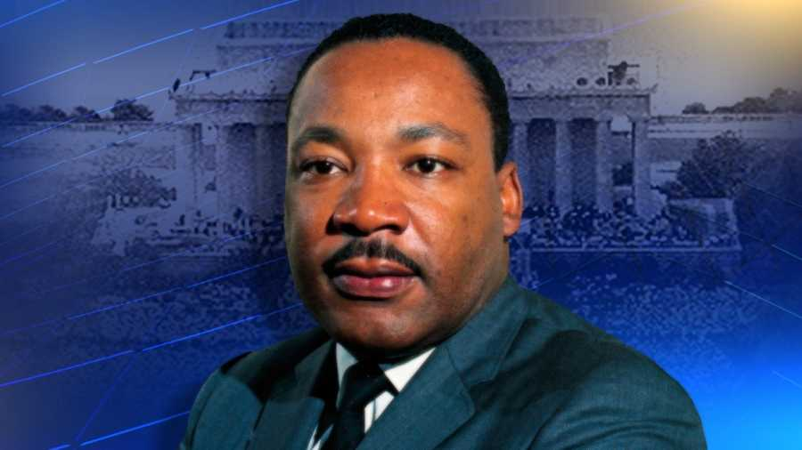 Dr. Martin Luther King head shot