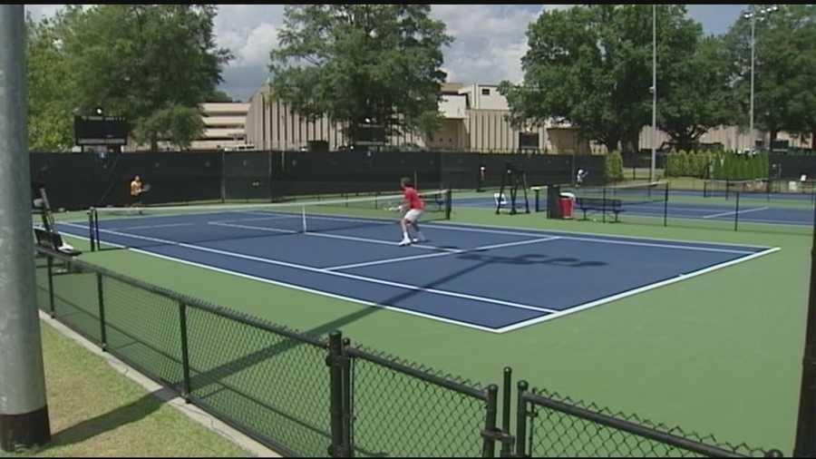 As the Wyndham Championship Golf Tournament came to a end now all focus is on the triad's biggest tennis event of the year. WXII's Michelle Kennedy has more on the Winston-Salem Open