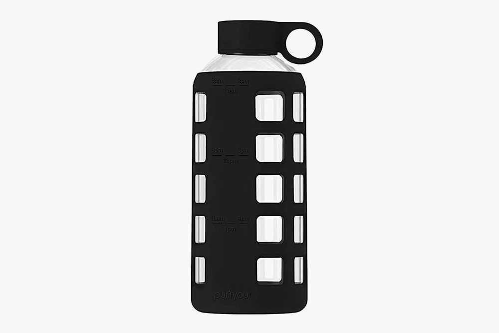 purifyou Premium Glass Water Bottle