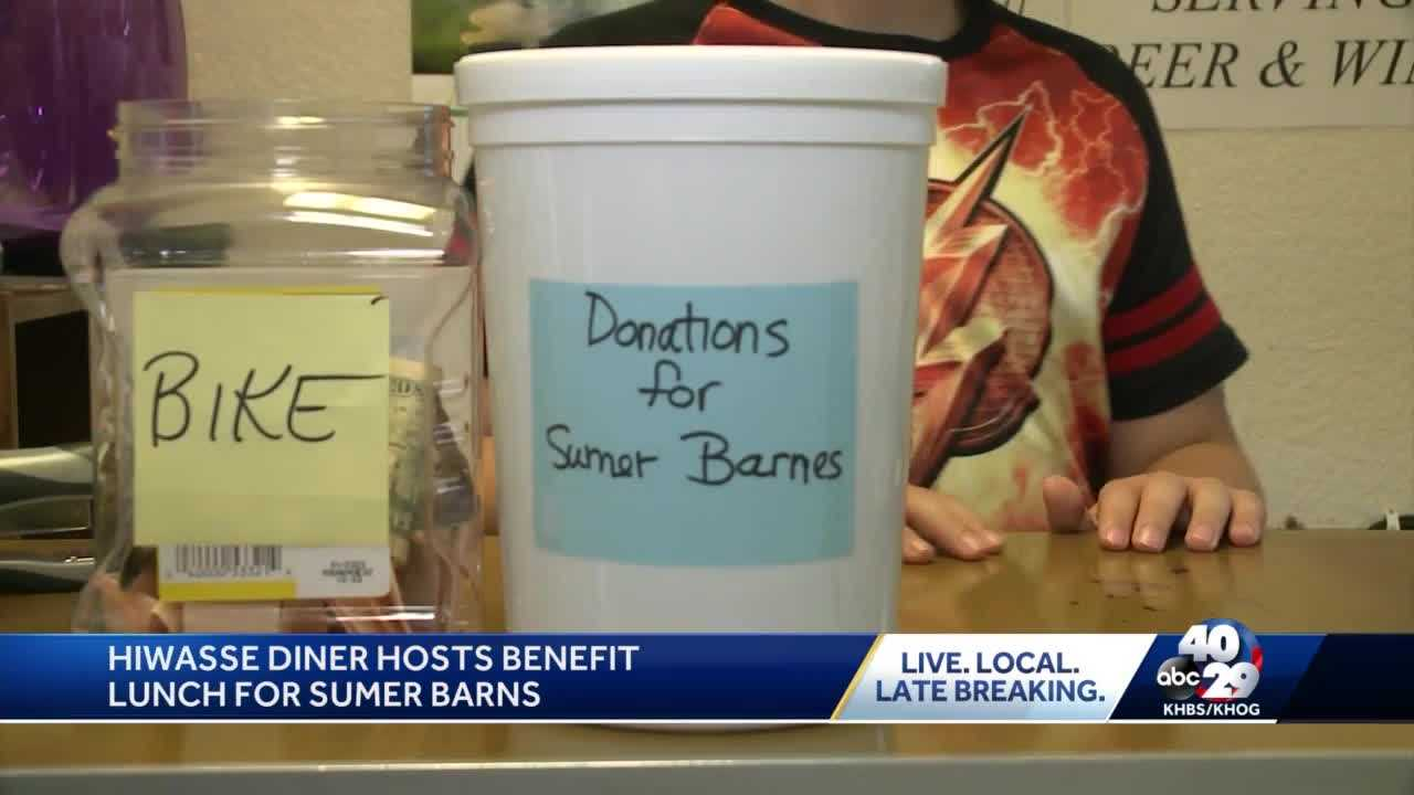 Hiwasse Diner hosts profit lunch for Sumer Barnes thumbnail