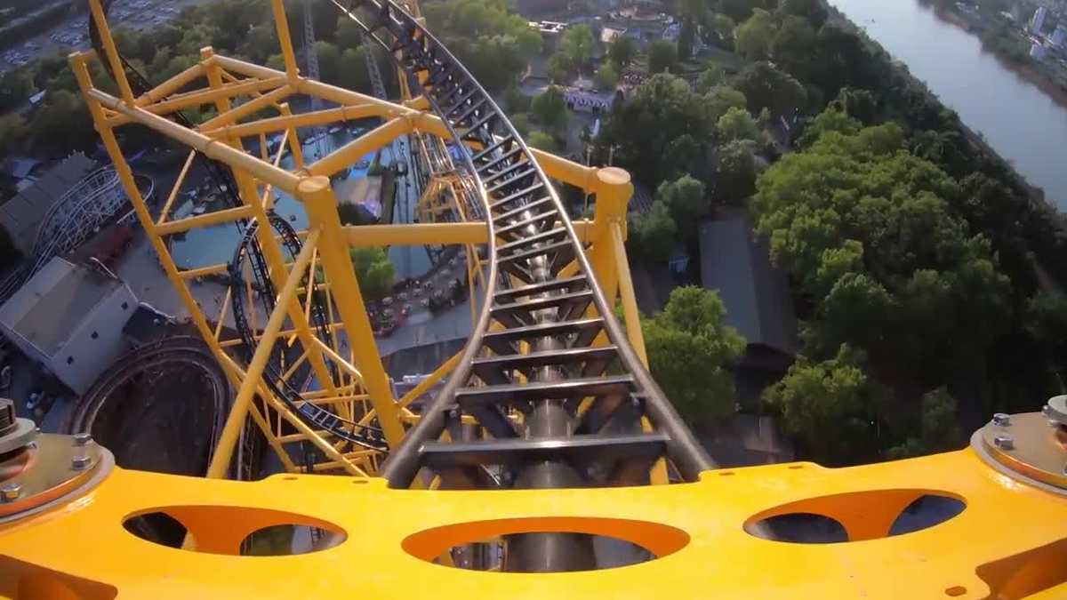 Kennywood's Steel Curtain voted best new roller coaster of 2019