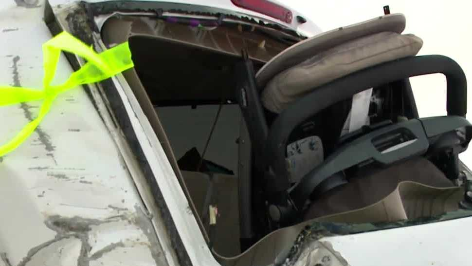 Iowa mother tells how she saved her family from serious I-80 pile up