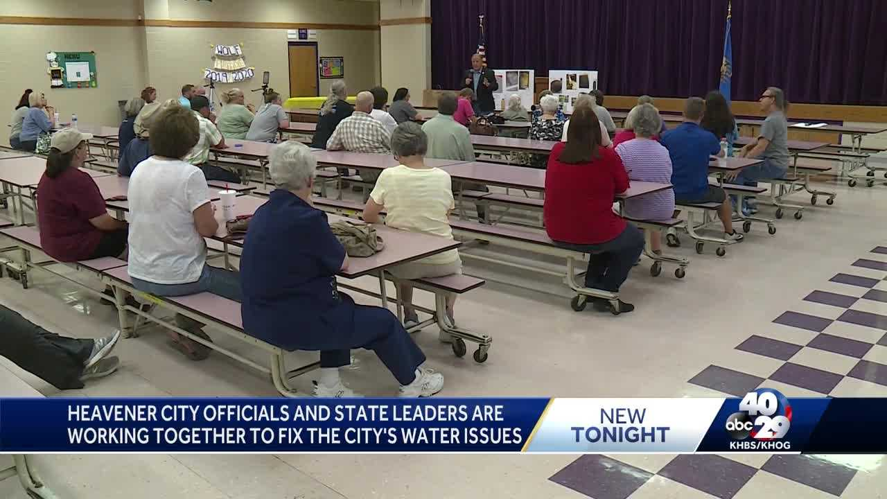 Heavener city officials and state leaders are working together to fix the city's water issues thumbnail