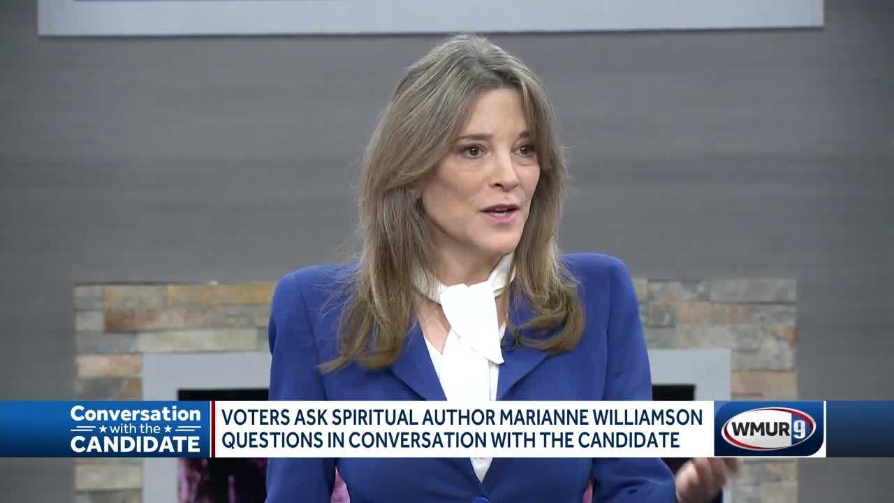 Spiritual author turned presidential candidate Marianne Williamson says she has practical experience