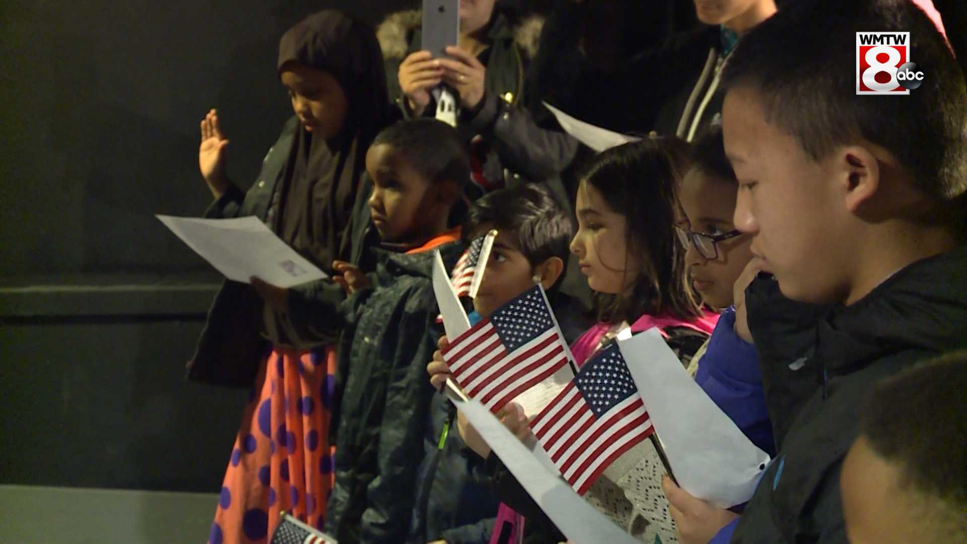 Nearly 30 children become U.S. citizens in special ceremony