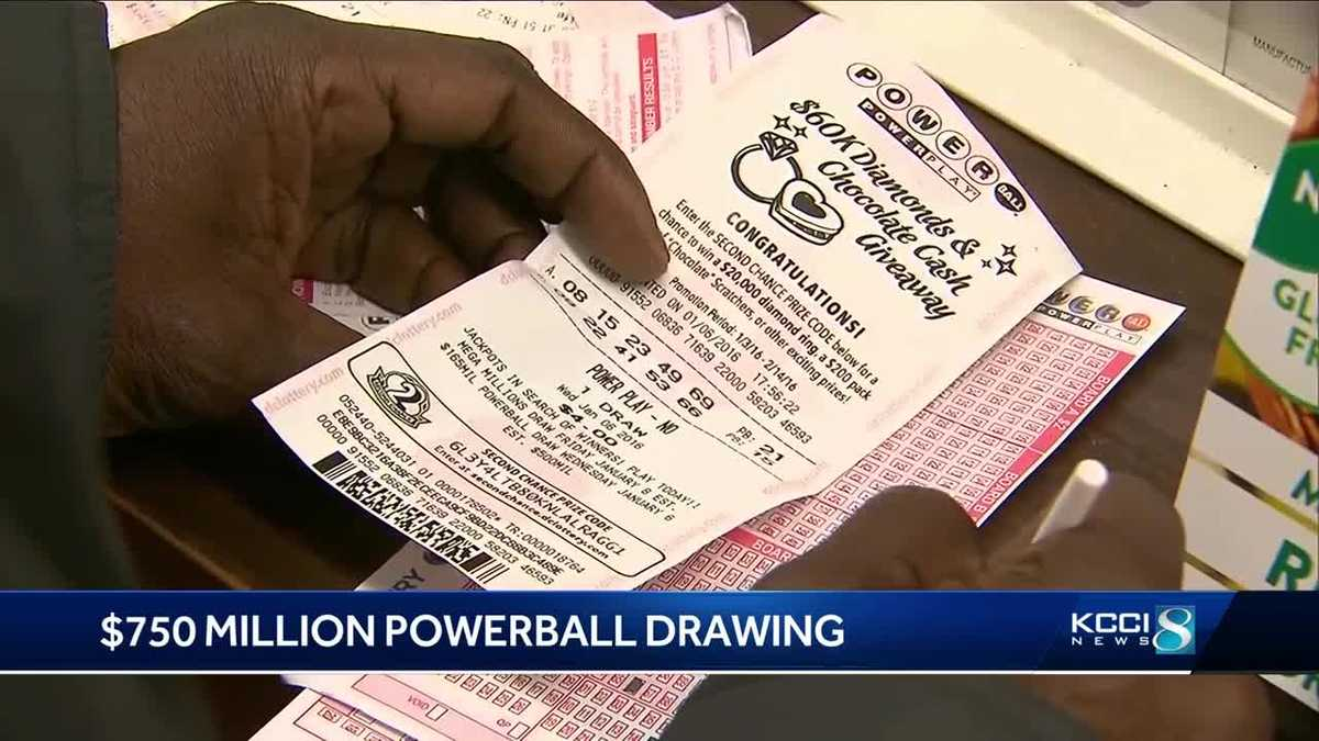 Feeling Lucky 750m Powerball Drawing Tonight