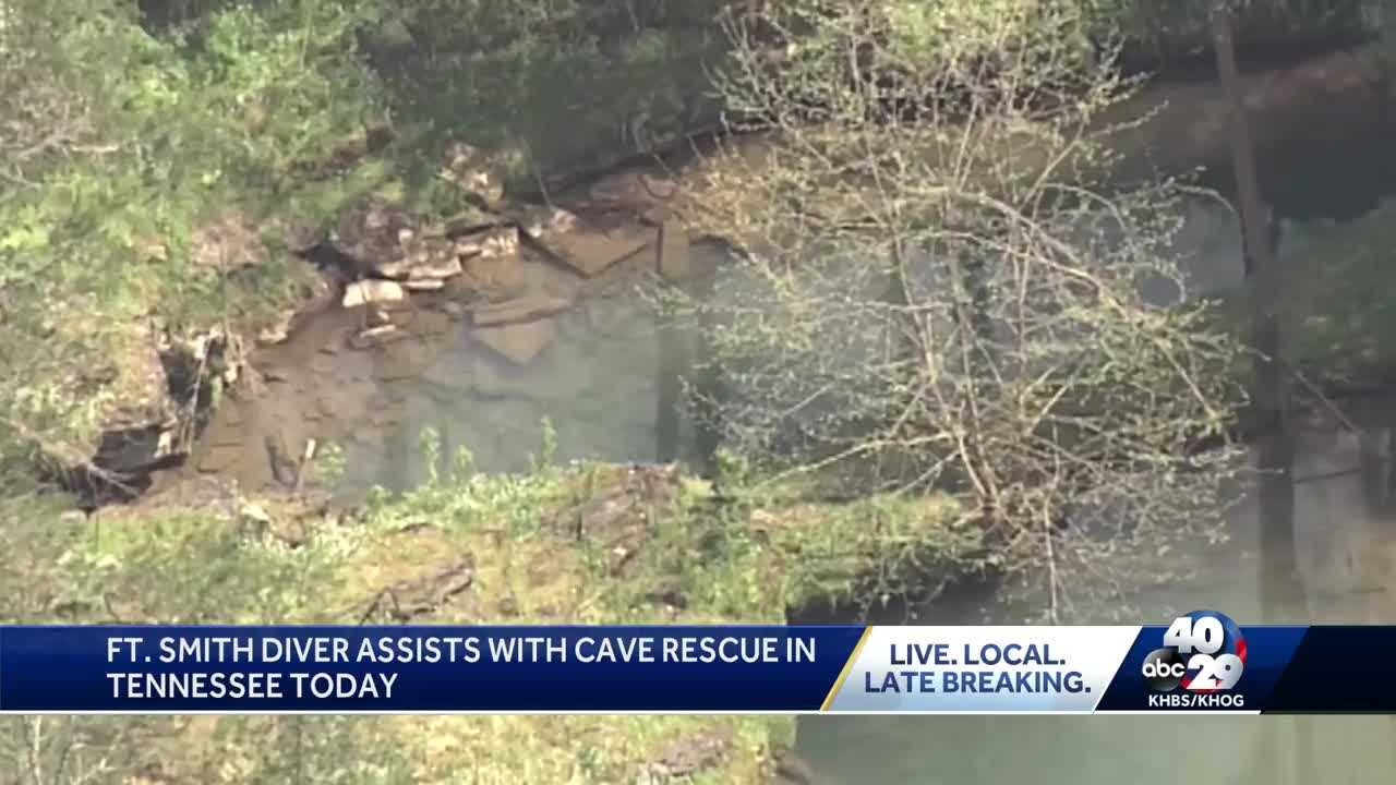 Local diver helping in Tennessee cave rescue thumbnail