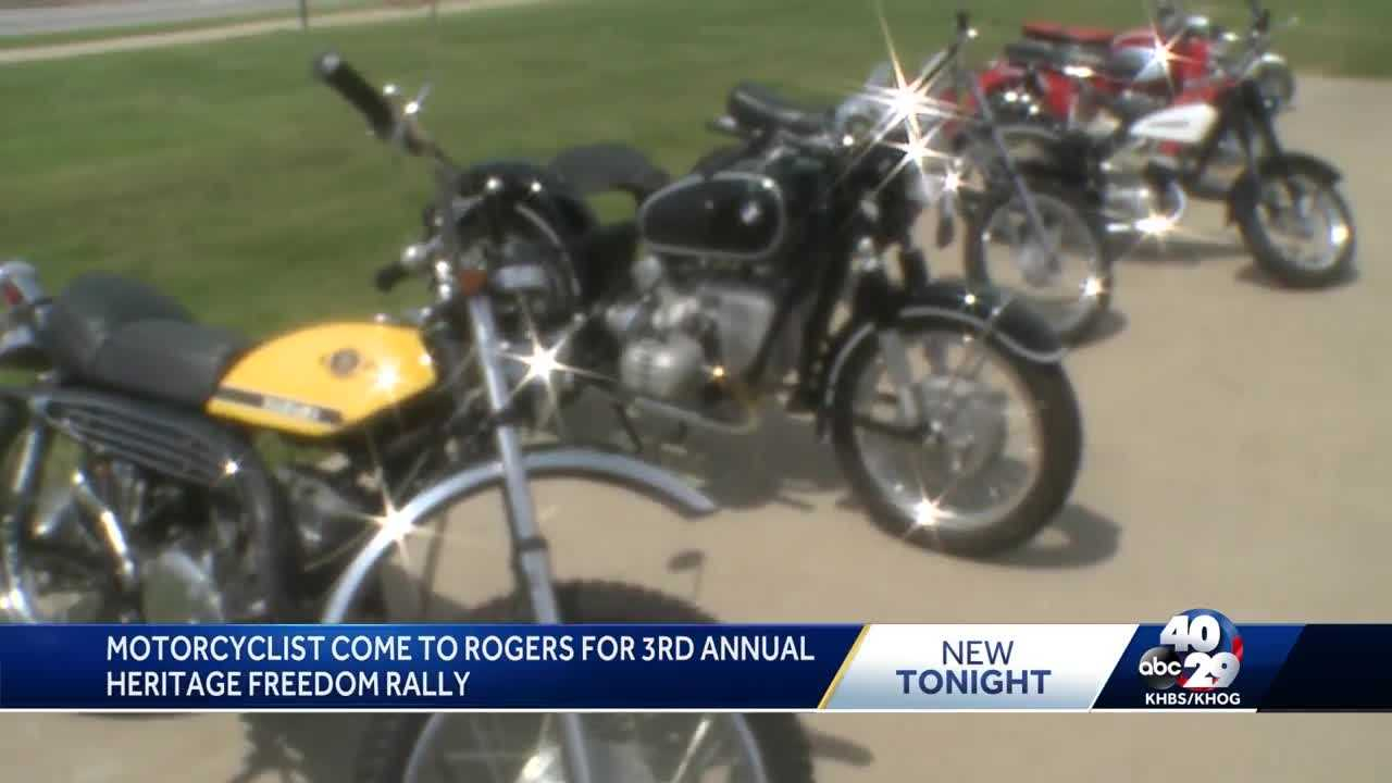 Heritage Freedom Rally continues Sunday in Rogers thumbnail
