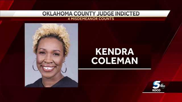 Oklahoma County judge indicted, accused of not filing last 4 income tax returns
