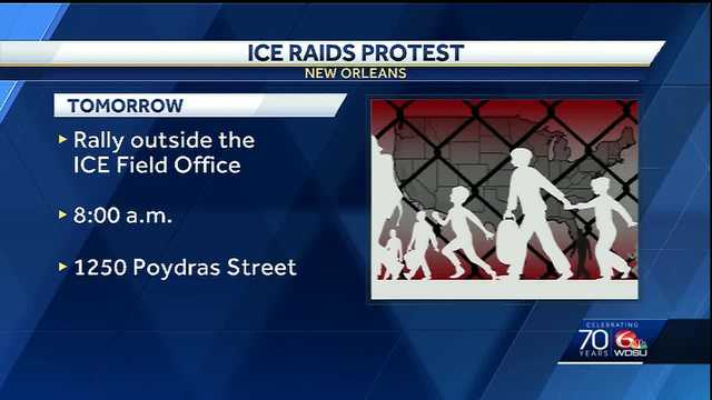 ICE protest planned in New Orleans; agency releases statement ahead of event