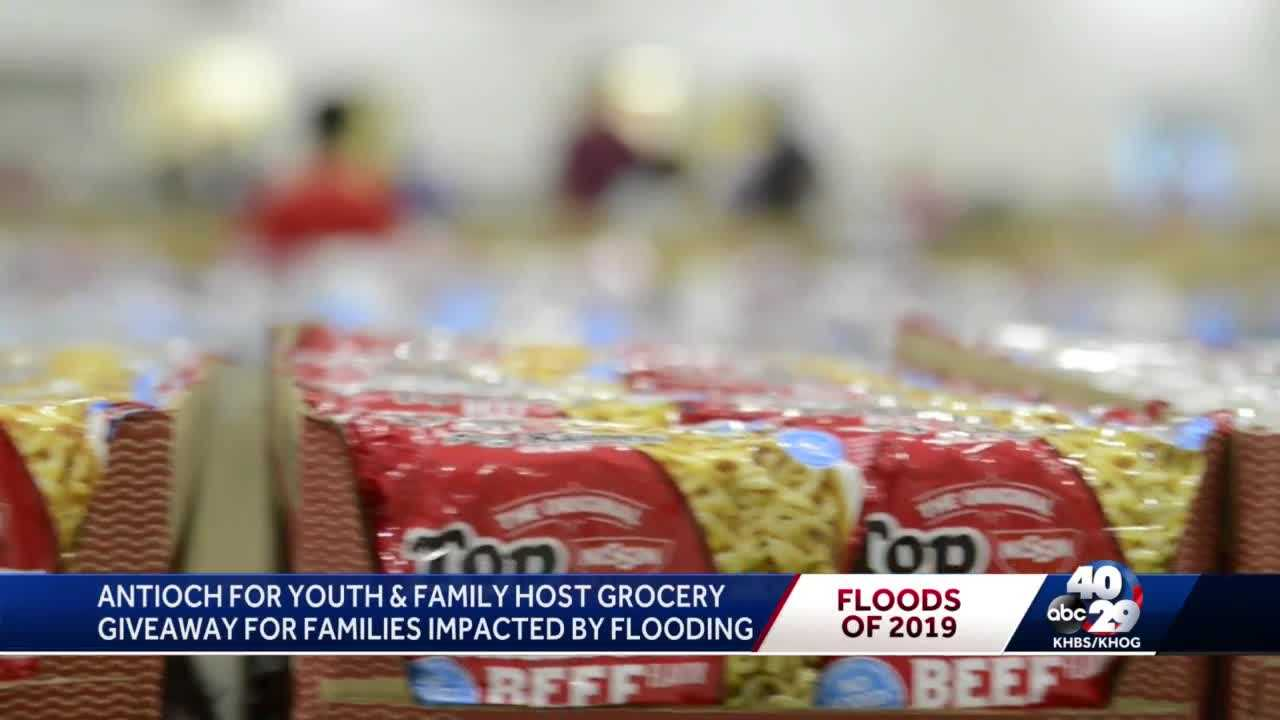Antioch for Youth and Family host grocery giveaway for families impacted by flooding thumbnail