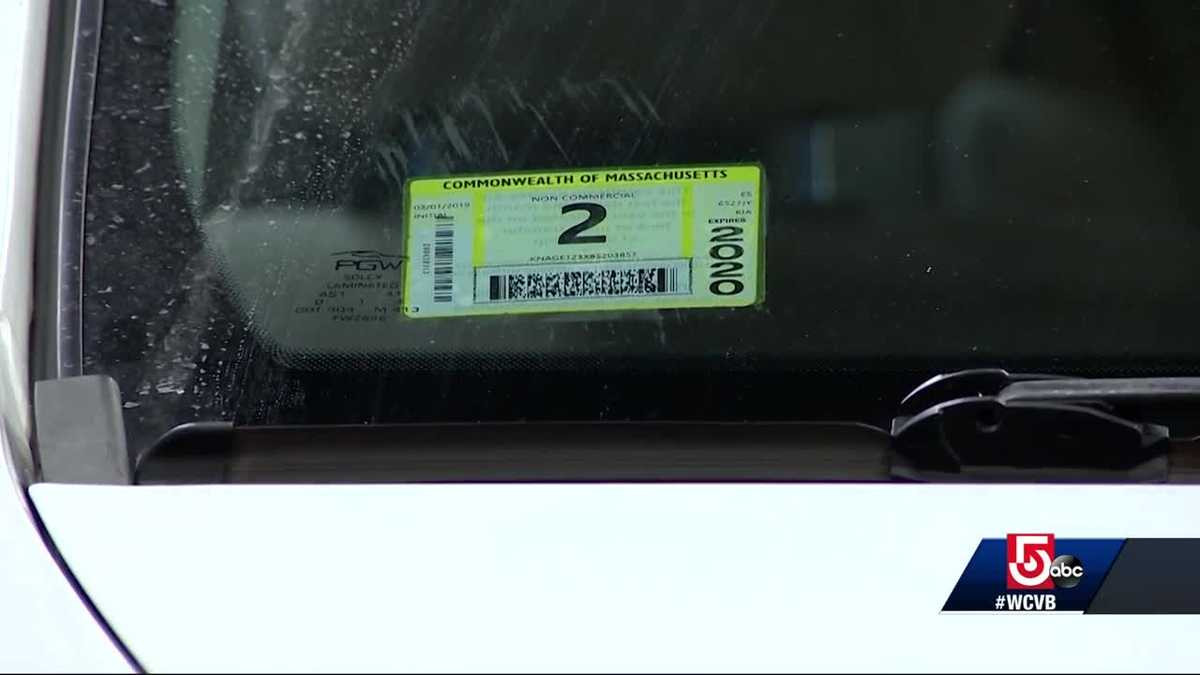 Its march so why were mass drivers given february inspection stickers