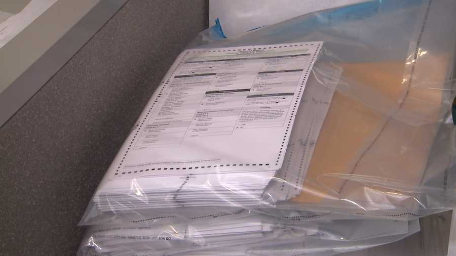 A generic image of an election ballot