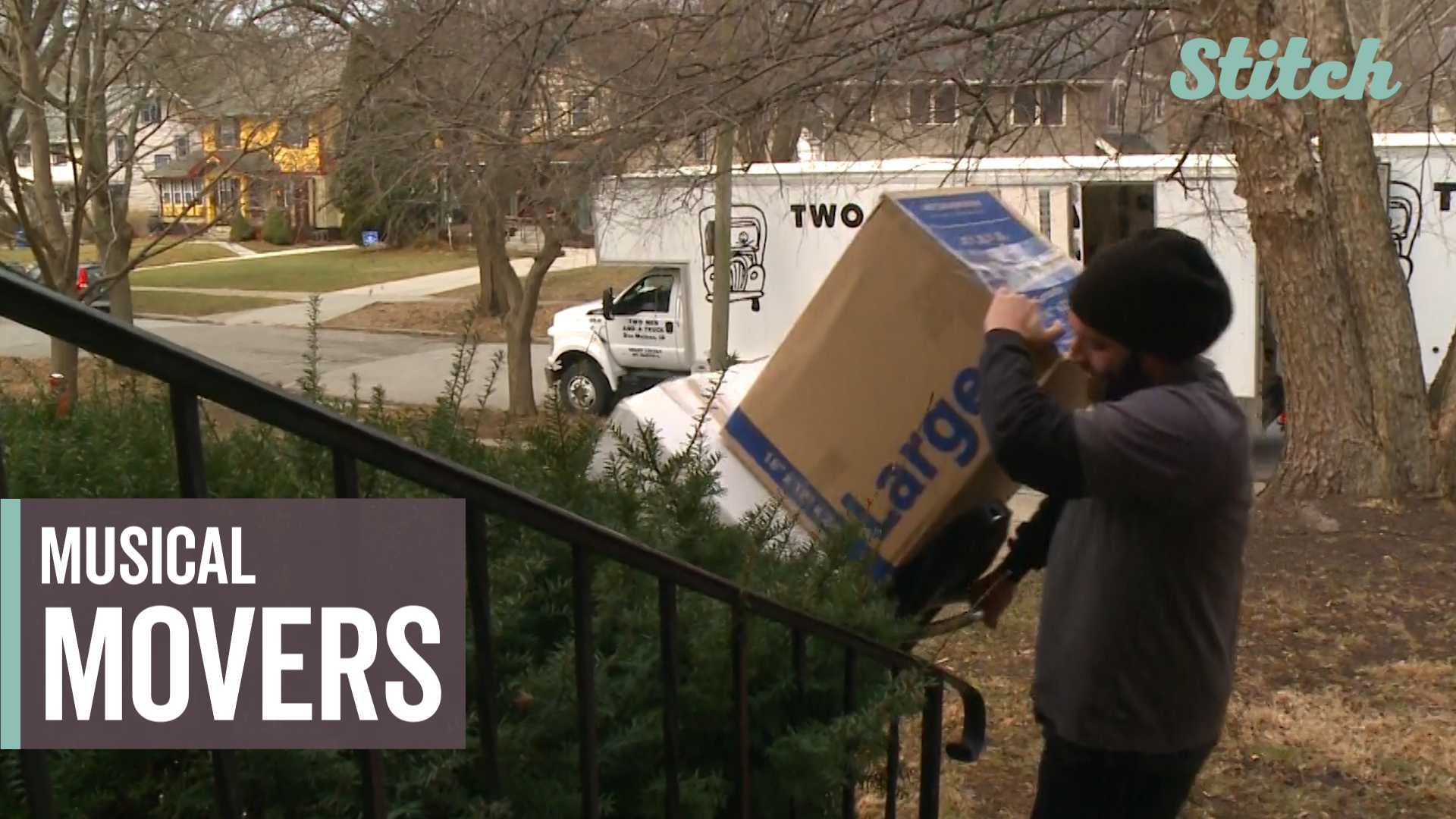 Whistle while you work: Movers sing hits, ditties while they haul people's belongings thumbnail