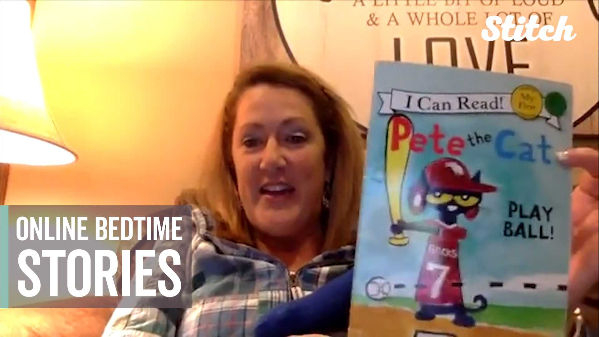 This elementary school principal reads bedtime stories to her students every night thumbnail