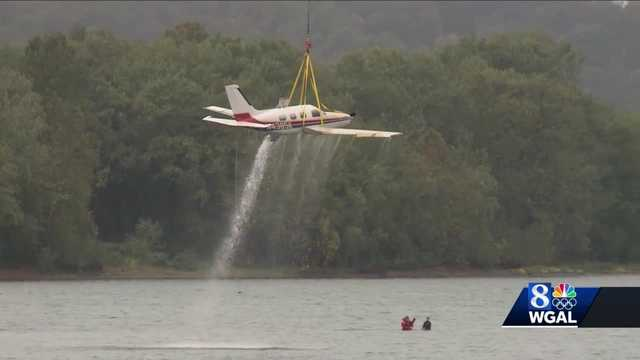 Plane lifted from Susquehanna River in Dauphin County