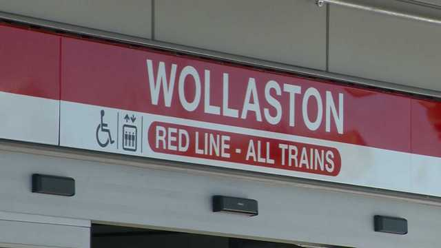 Celebrating the reopening of Wollaston Station